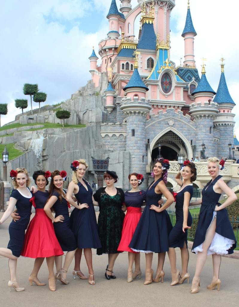 SatinDollz et Soulier Vert, Disneyland Dapper Day-Fall 2017_souliervertblog