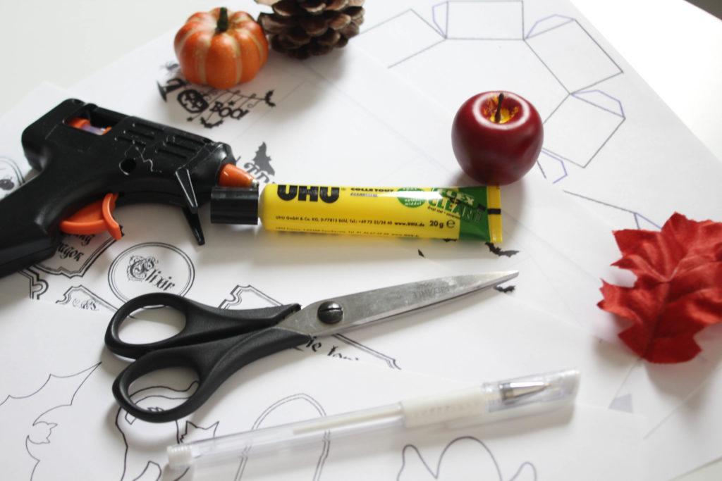 DIY Halloween déco table