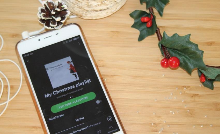 Ma playlist de Noël 2018
