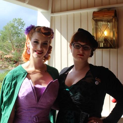 Soulier vert rencontre Miss Victory Violet