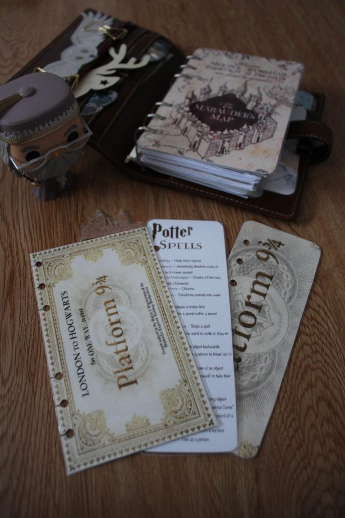 Planner, Ma déco Harry Potter_souliervertblog