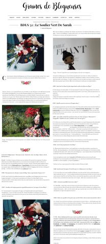 2016, Interview Graines de blogueuses