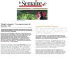 2017, Portrait Soulier vert dans la semaine.fr