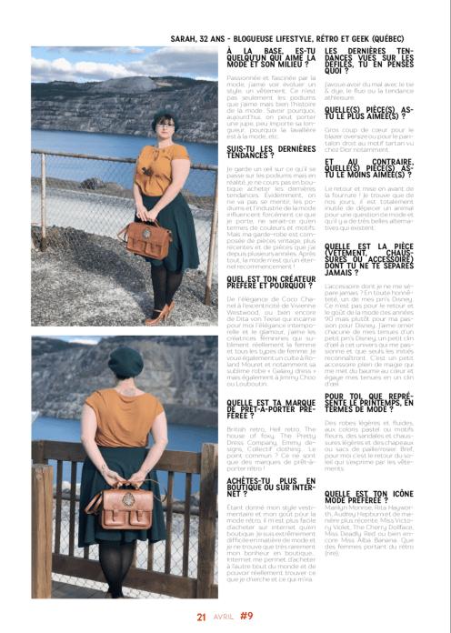 2019, Interview Sarah et mode printemps_Ginette magazine 9