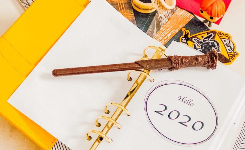 Mon planner/bullet journal 2020