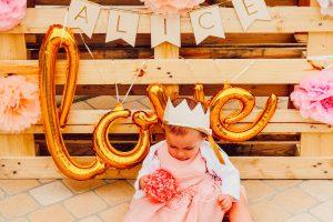 Premier anniversaire de Alice au domaine Dolexia