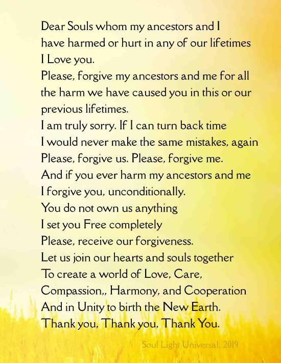 #Forgiveness_Invocation