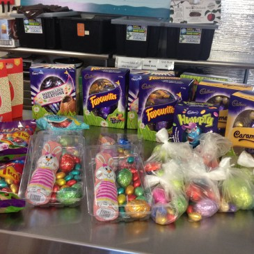 More Easter egg donations