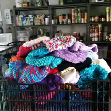 Warm Blankets and Beanie Donations