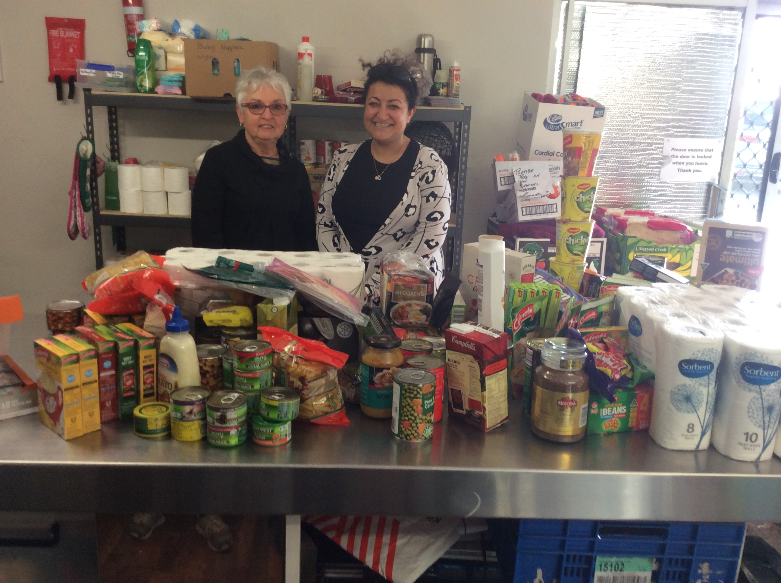 Bahai Community Of Rockingham Food Donation