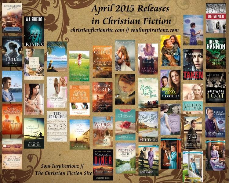 April 2015 Christian Fiction