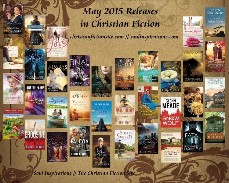 May 2015 Christian Fiction