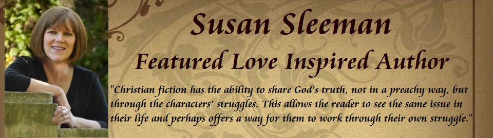 Featured Love Inspired Author: Susan Sleeman