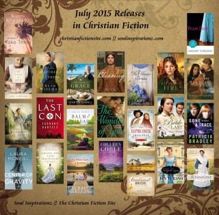 July 2015 Christian Fiction