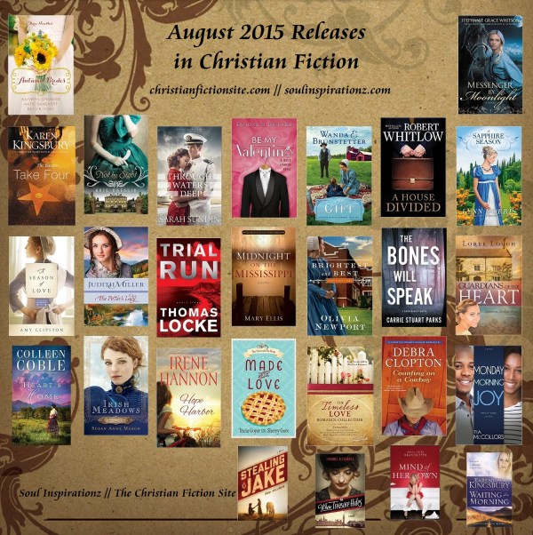 August 2015 Christian Fiction