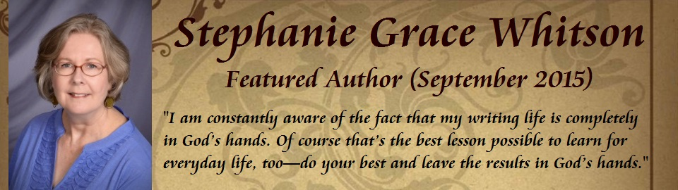 Featured Author: Stephanie Grace Whitson