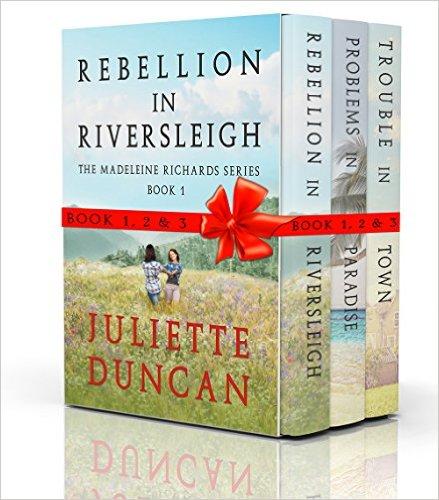 Book Cover: The Madeleine Richards Box Set