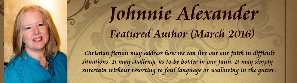 Featured Author: Johnnie Alexander