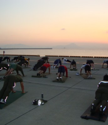 Yoga Classes for Marines & Navy troops