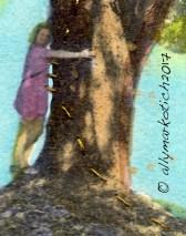 Hug a Tree close up