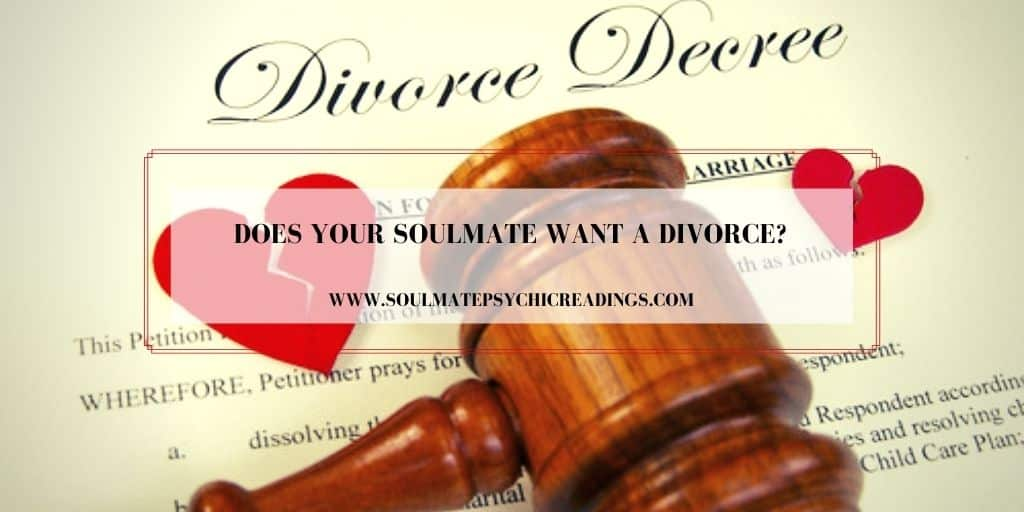 Does Your Soulmate Want a Divorce?