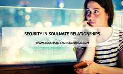 Security in Soulmate Relationships