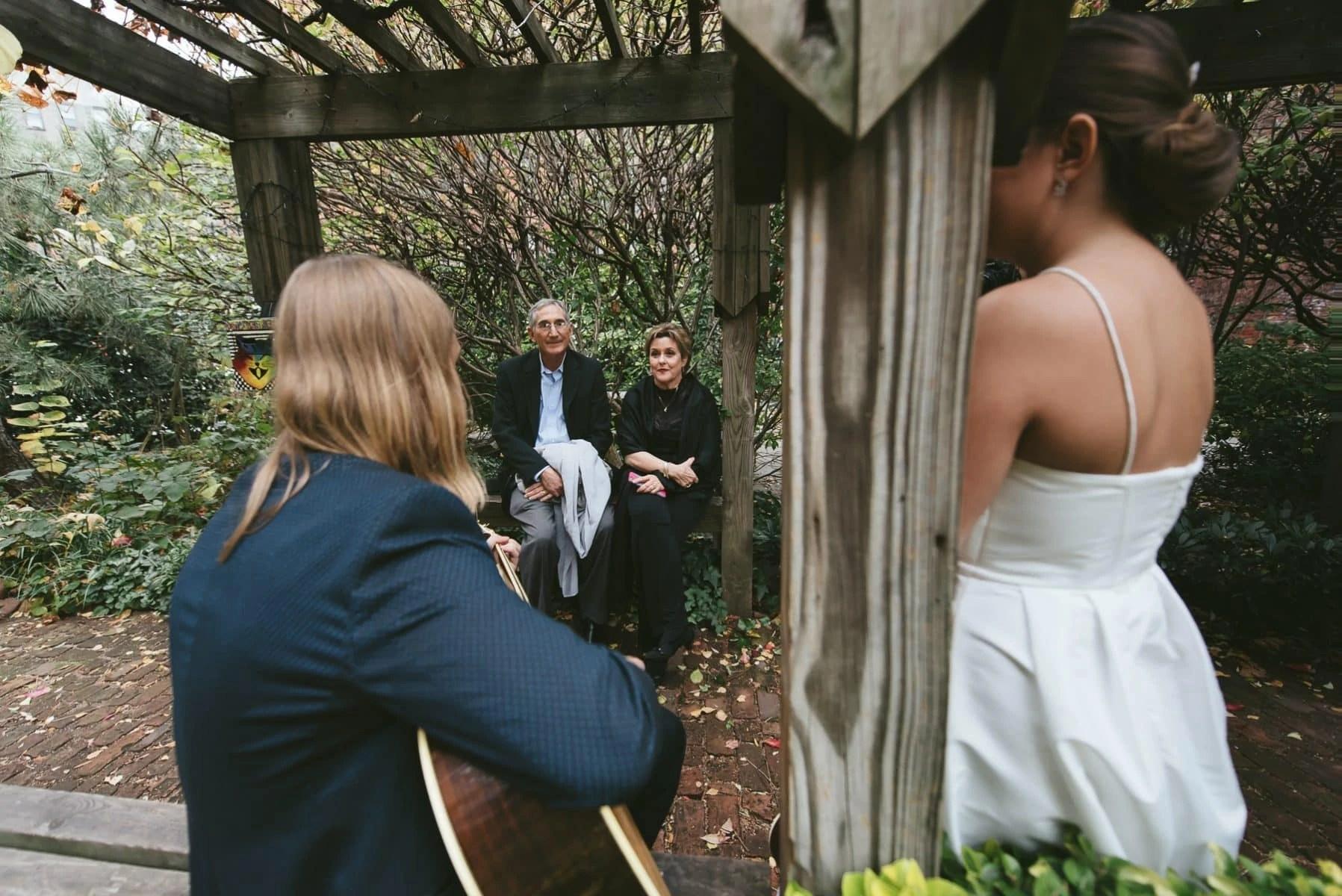 East Village 6BC botanical garden wedding