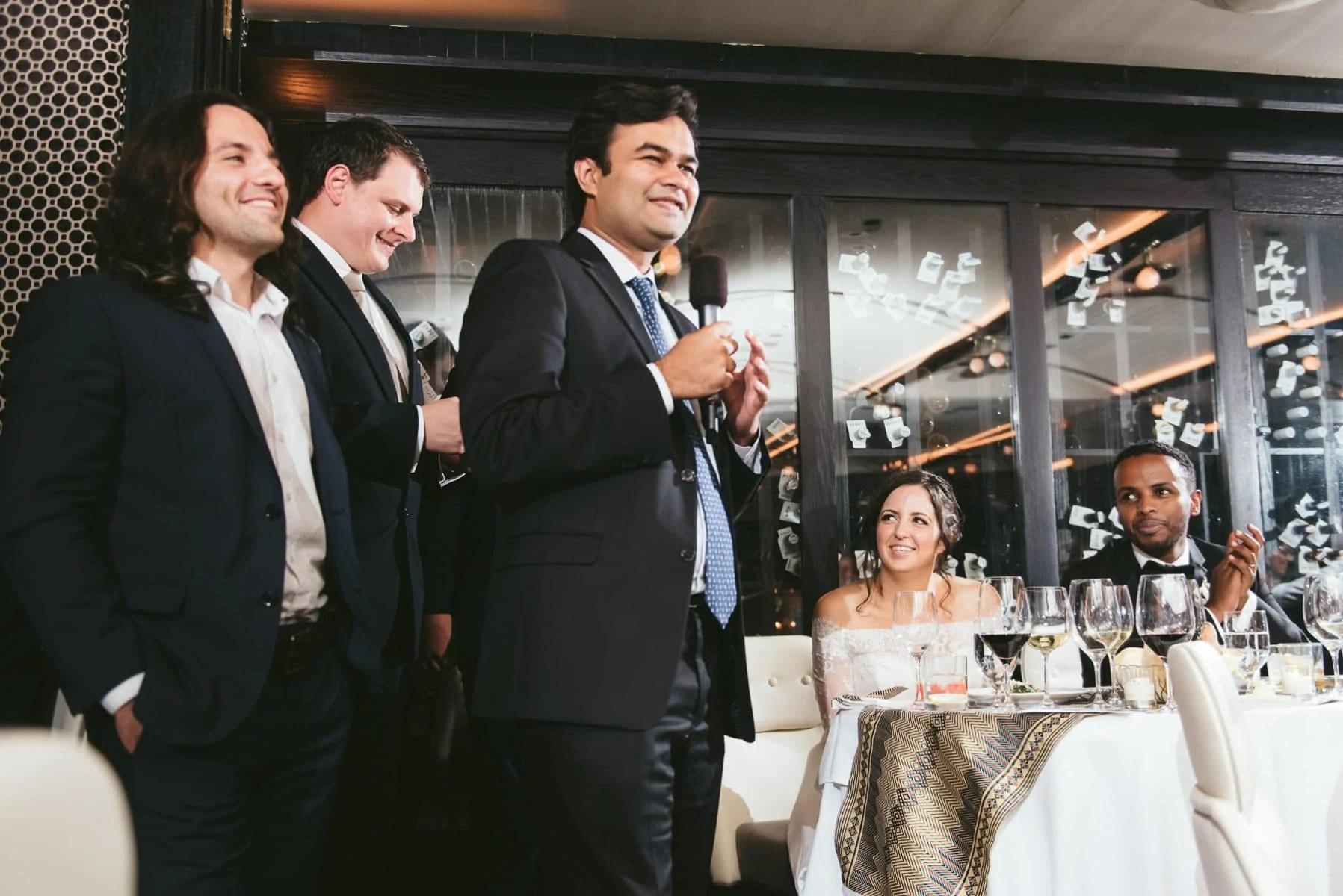 Del posto Restaurant wedding - Manhattan wedding