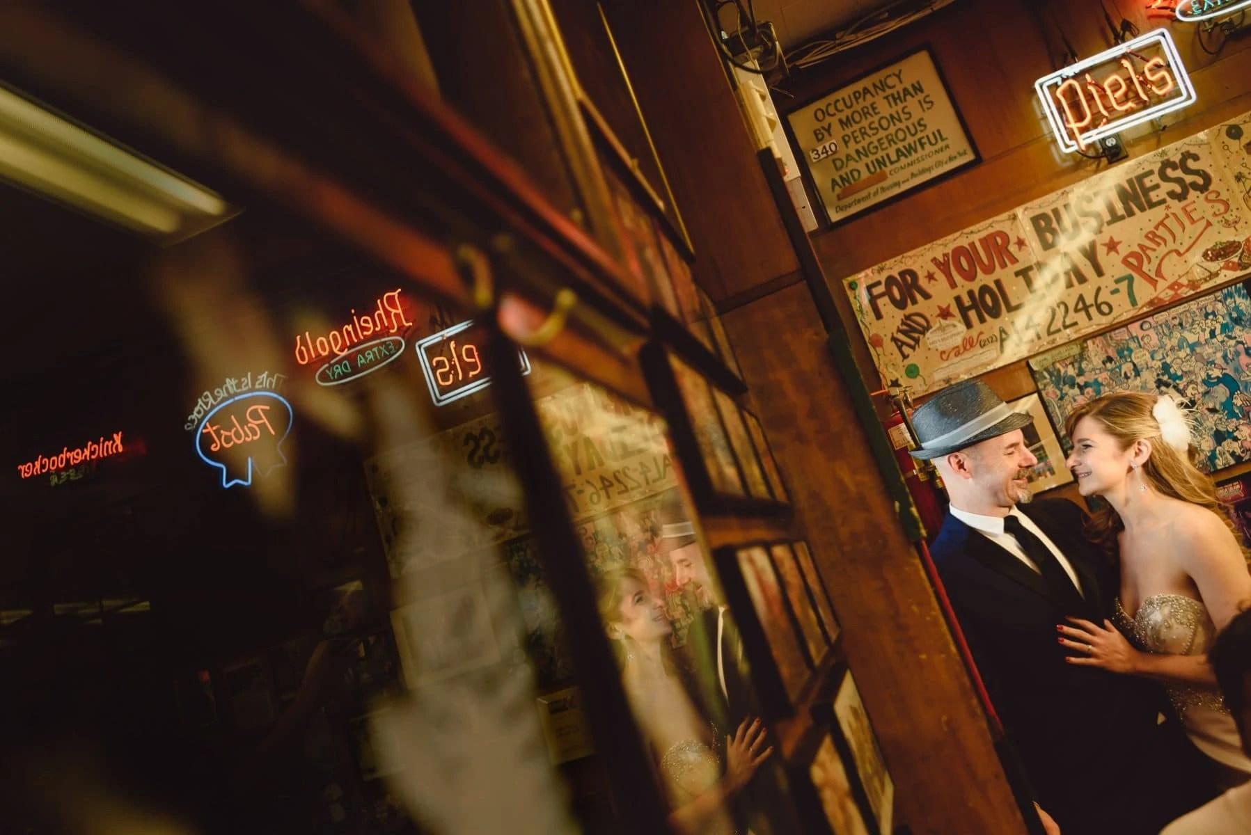 East Village | Katz's Delicatessen wedding