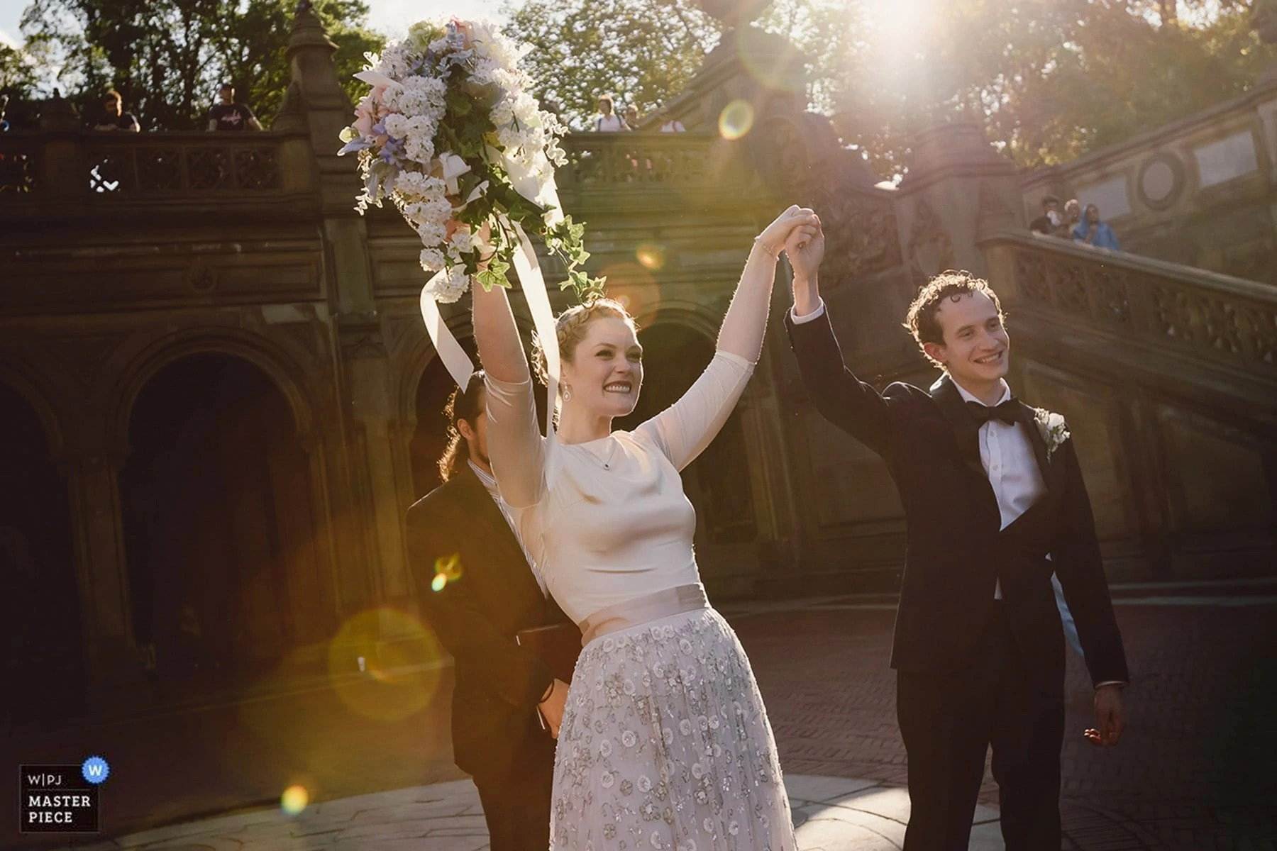 NYC Central Park Wedding photography WPJA award