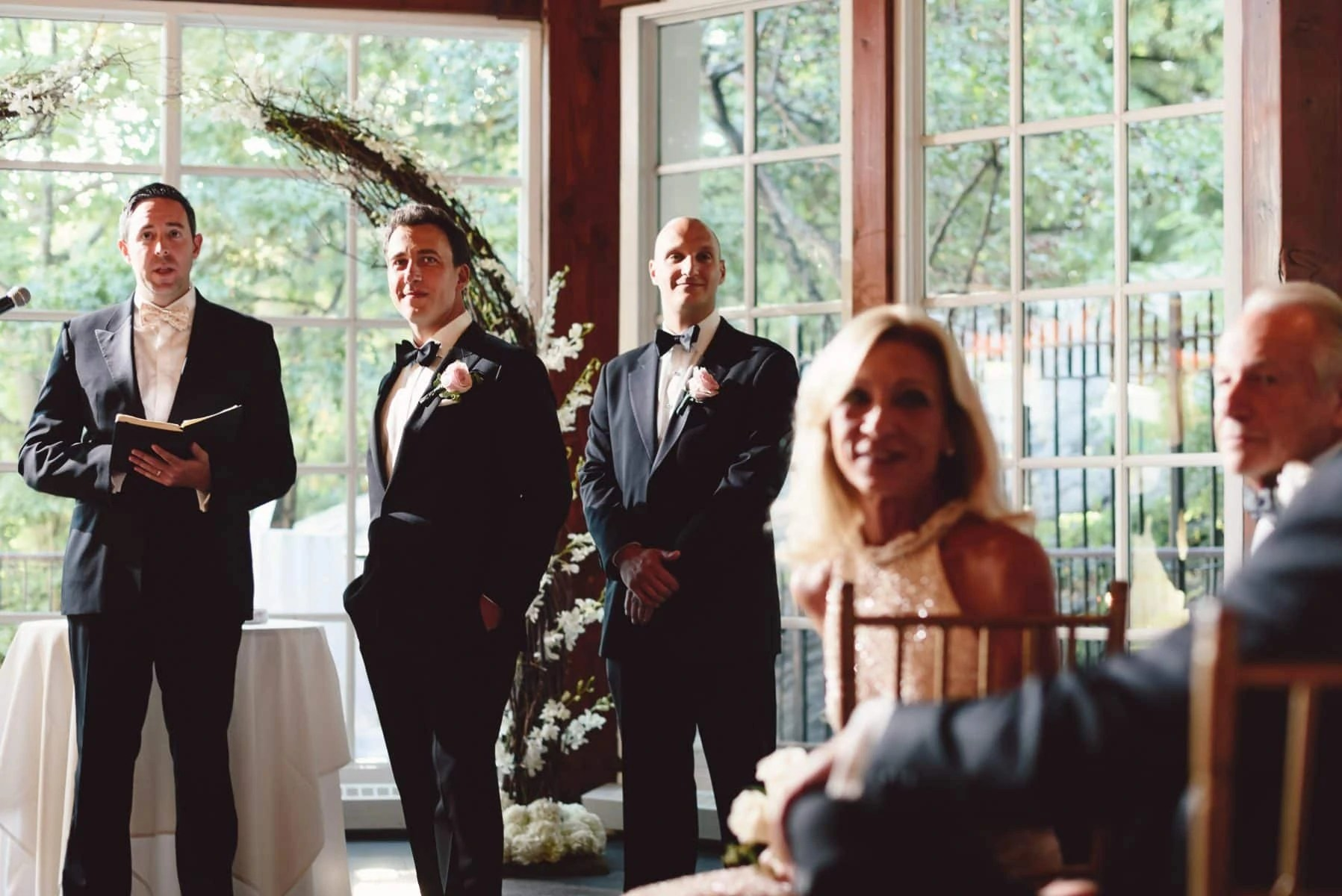 Central Park Boathouse wedding