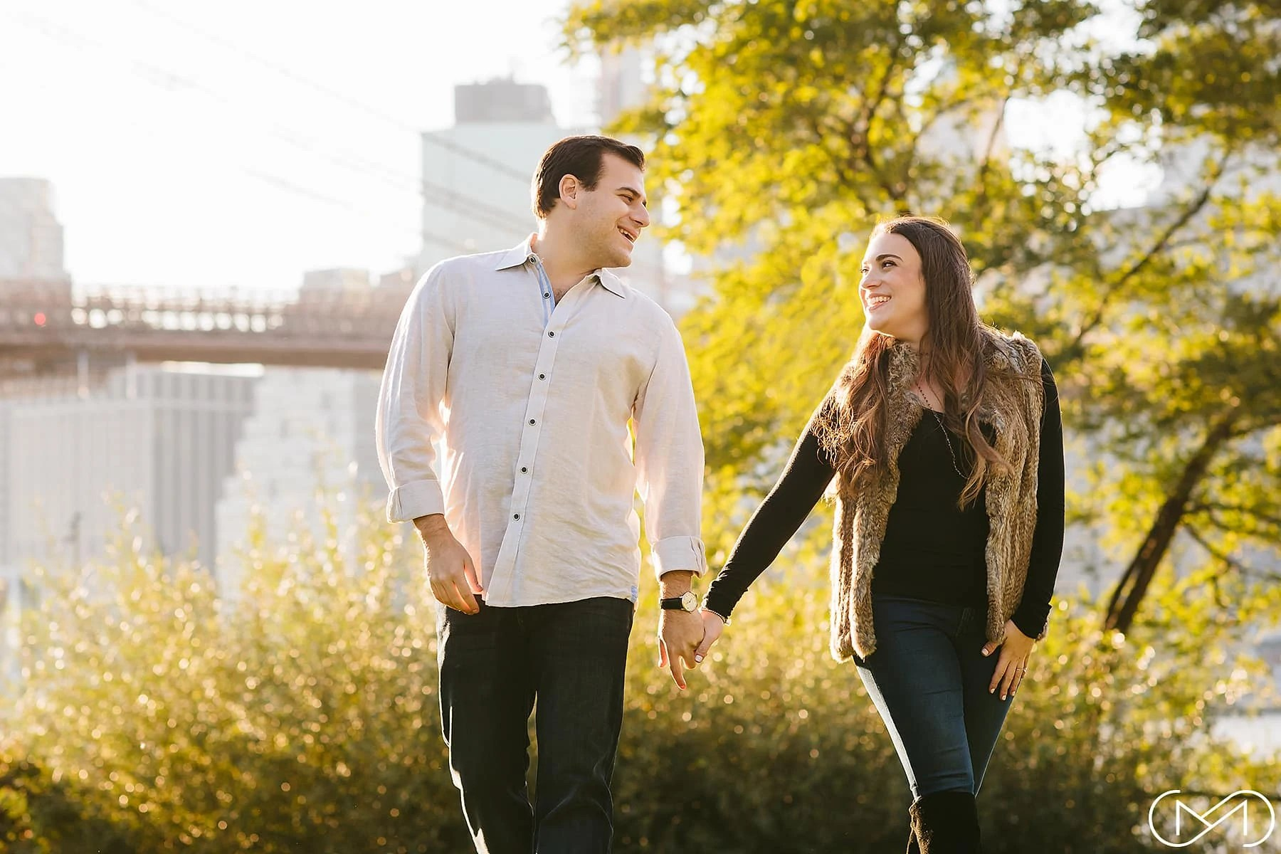 DUMBO Brooklyn Bridge Park Engagement