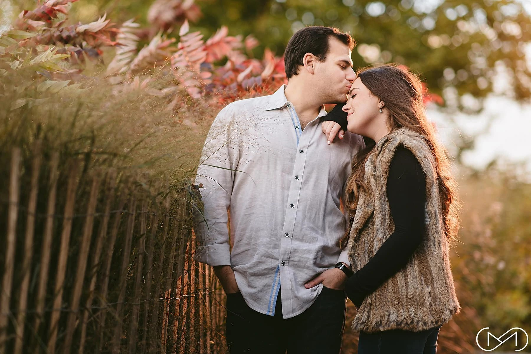 Brooklyn DUMBO Park engagement session