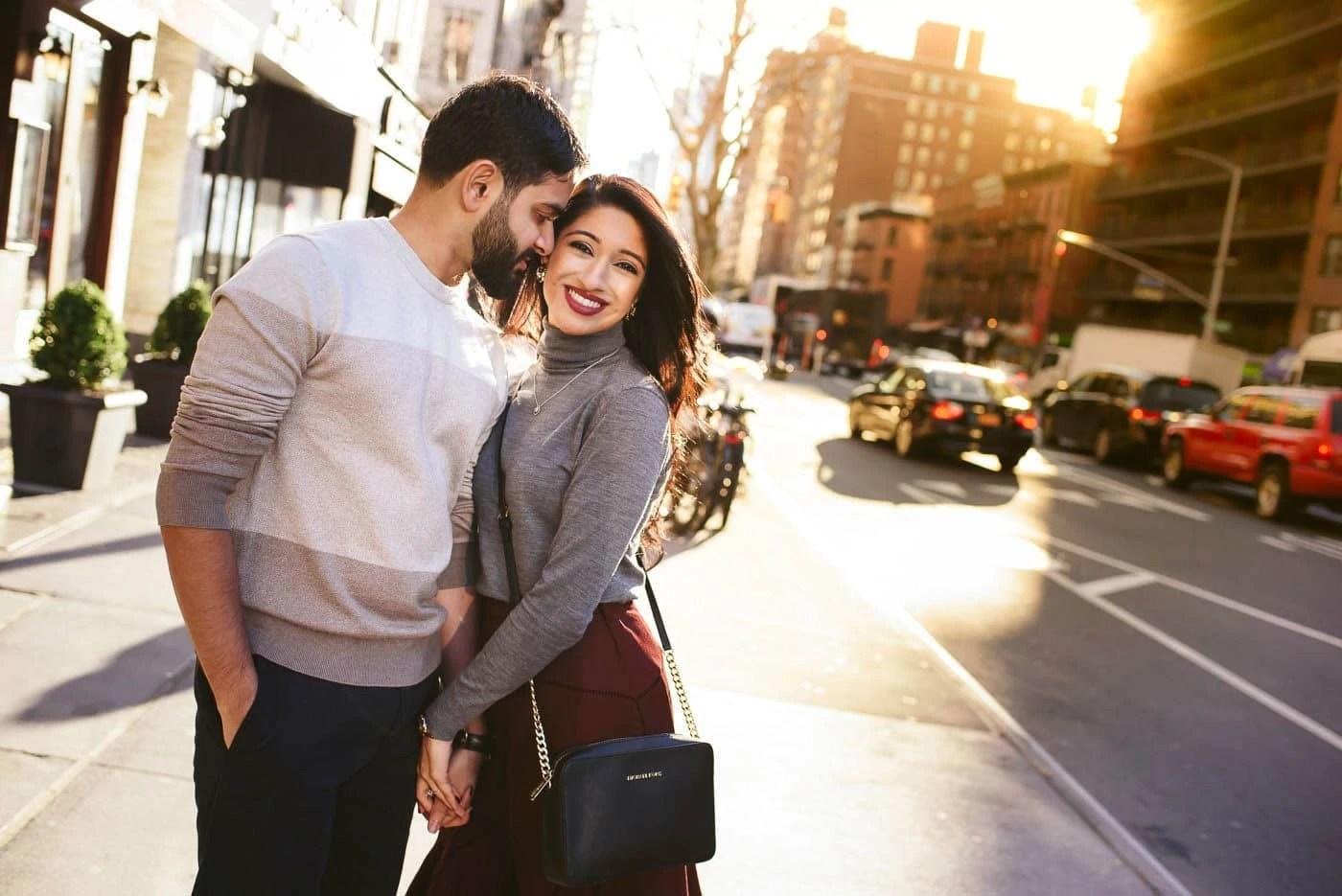 Manhattan Upper East Side Engagement