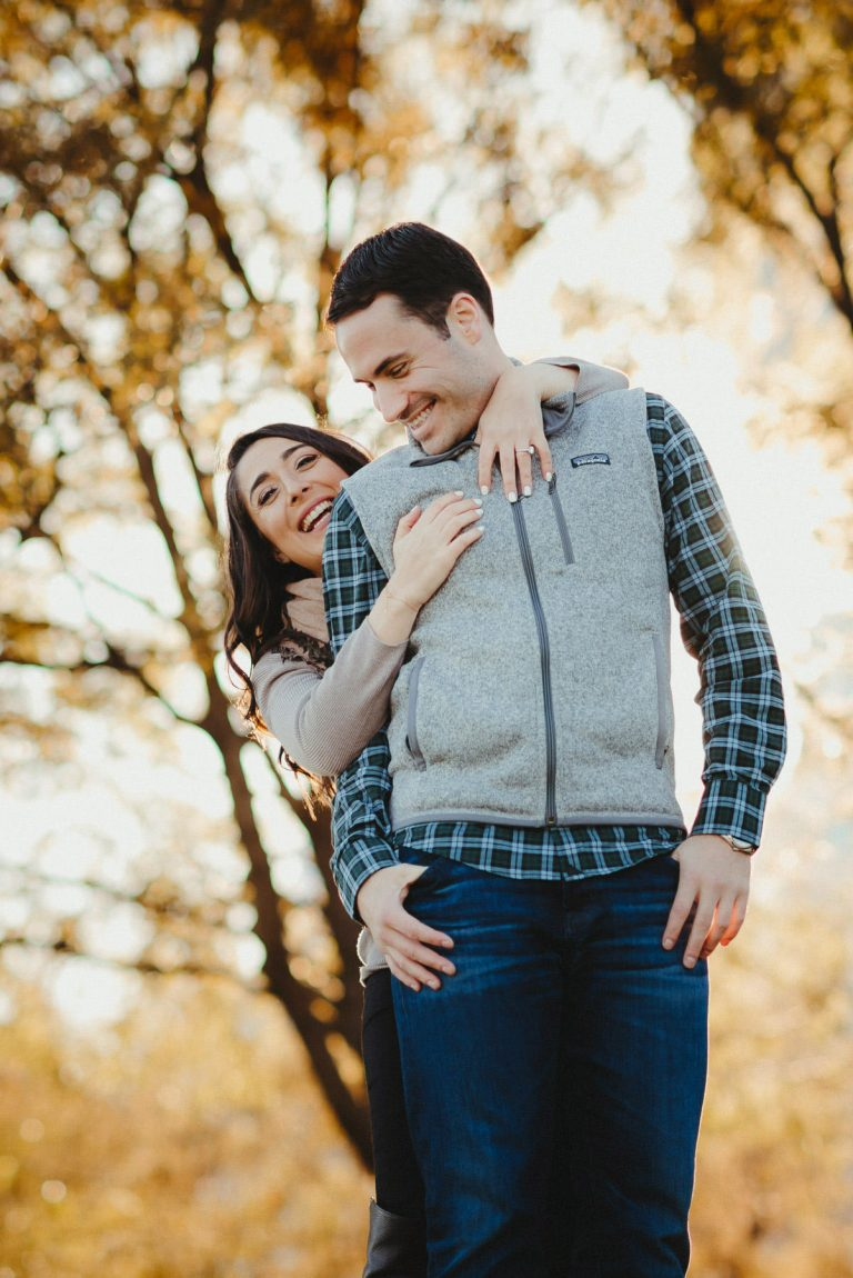 New York Autumn Engagement Session