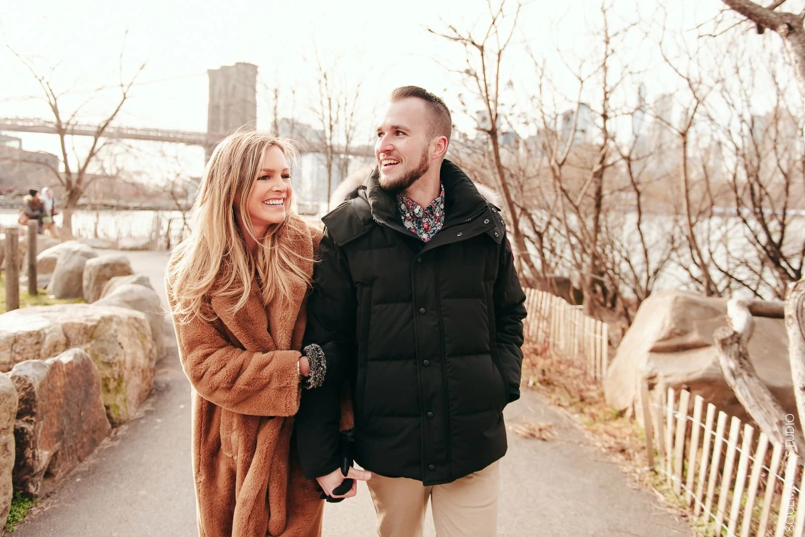 Brooklyn Candid Engagement Session