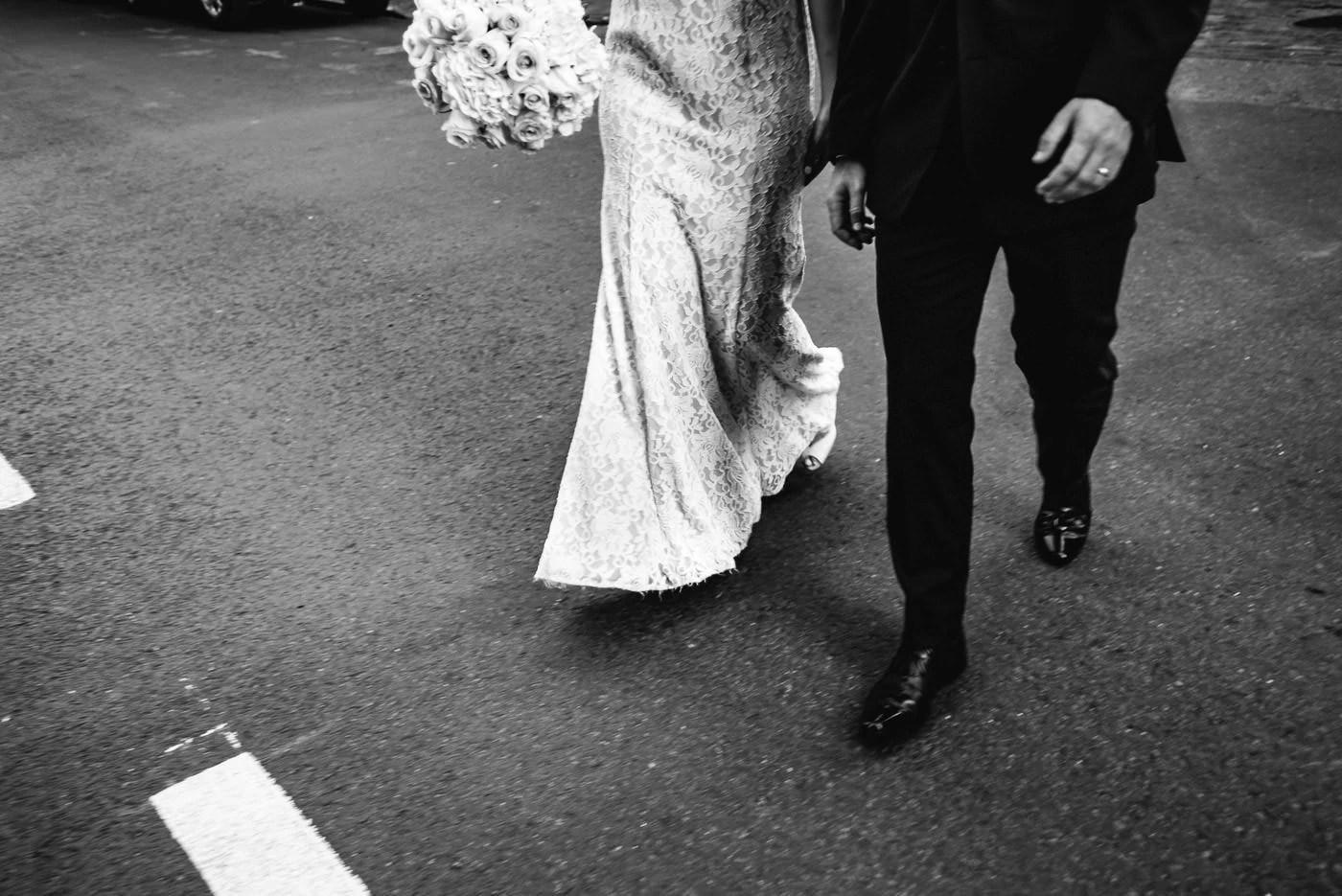 Dramatic Elopement Wedding Details