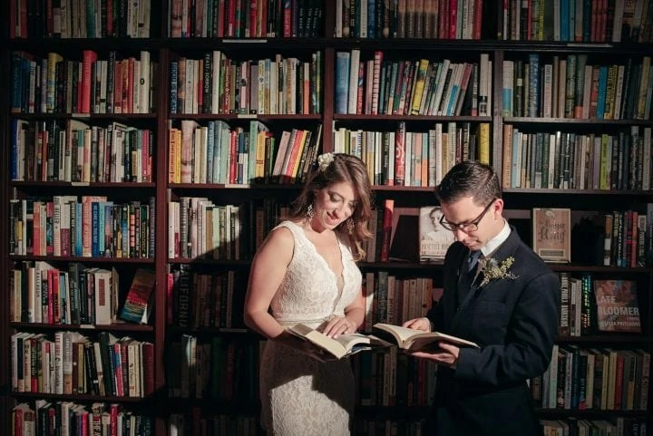 Housing Works BookStore Elopement Wedding
