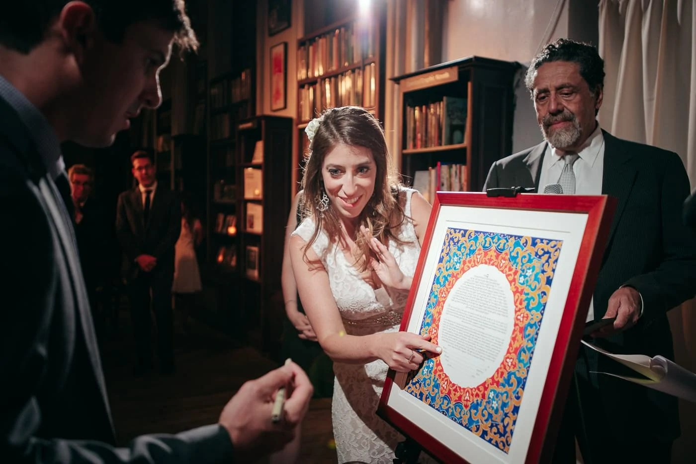 Housing Works BookStore Elopement Wedding