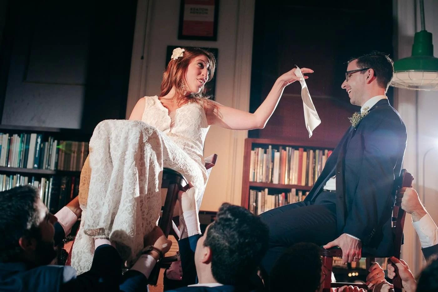 Housing Works BookStore Elopement Wedding Horah Dance