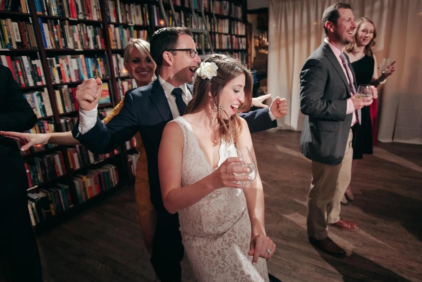 New York Elopement Wedding Reception