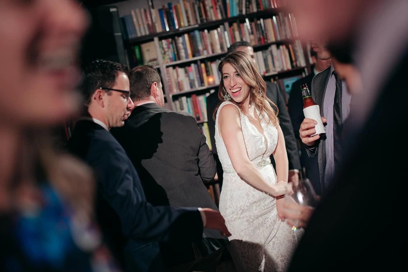 Housing Works BookStore Elopement Wedding Reception