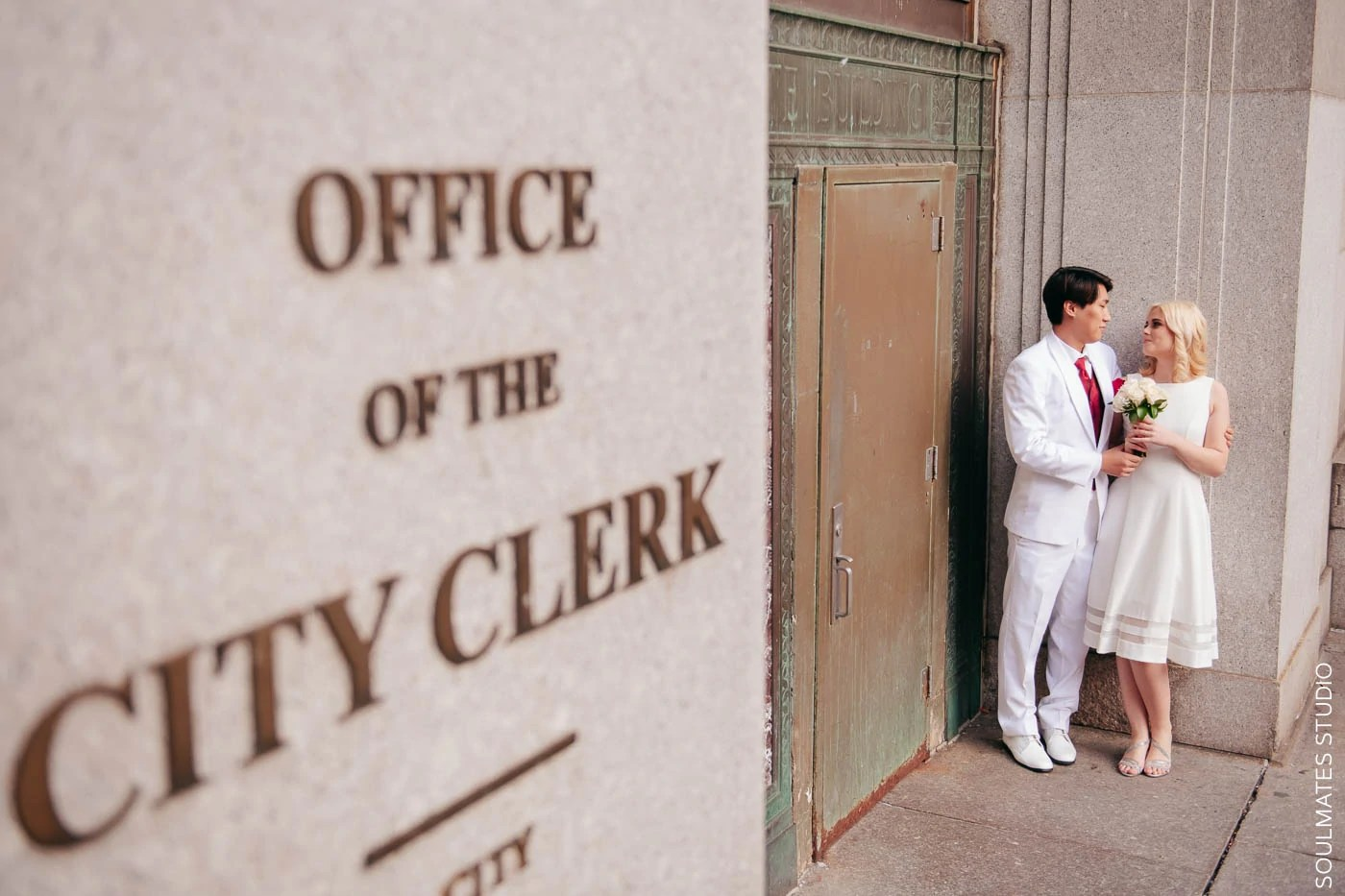 Manhattan Clerk's Office Elopement Wedding
