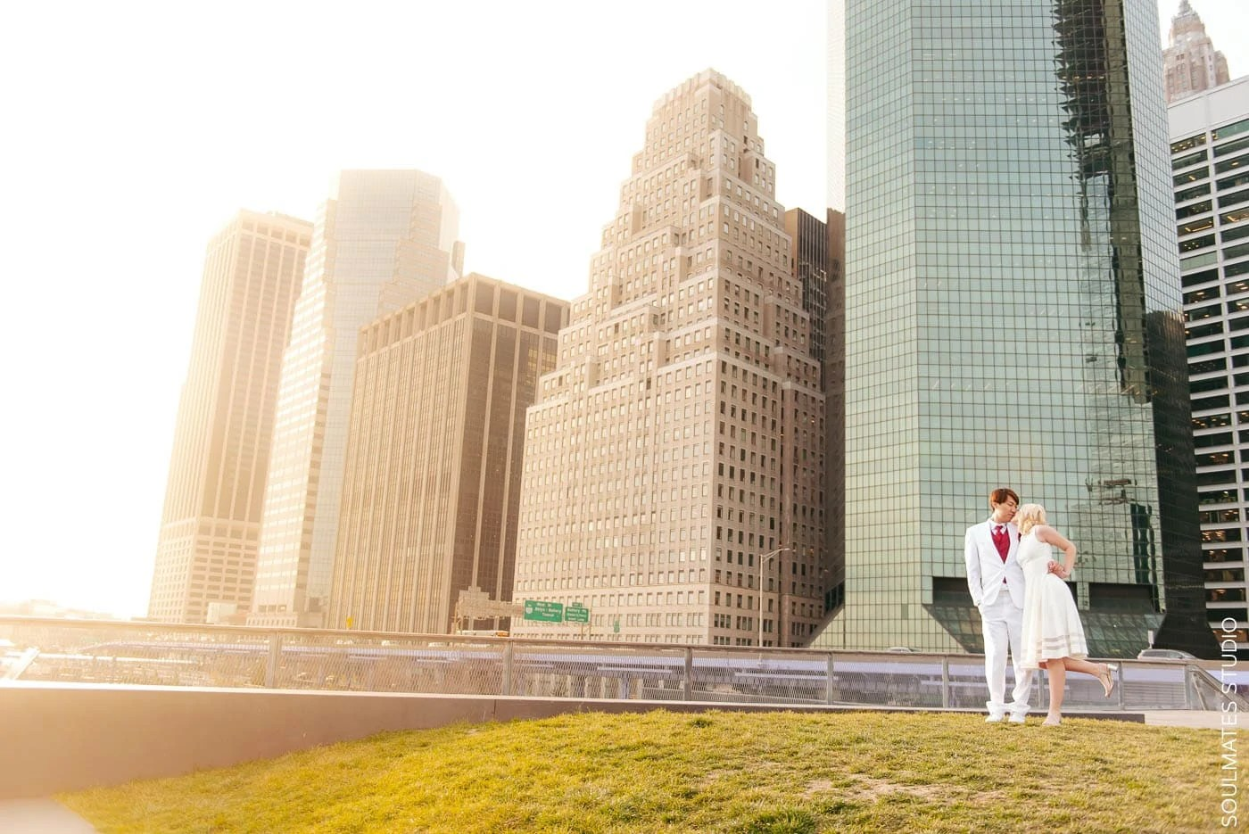 Pier 15 Elopement Wedding Session