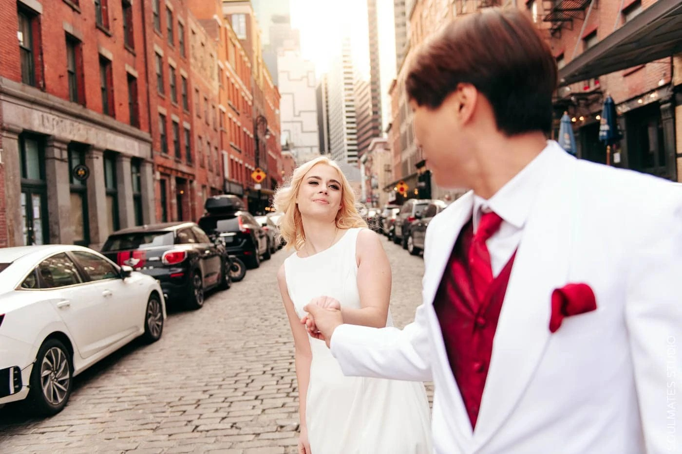 South Seaport Elopement wedding session
