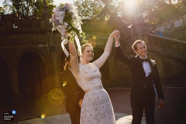 Central Park Elopement Wedding Award
