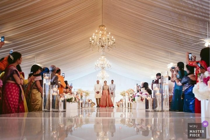 Indian Wedding Awarded Ceremony Photo