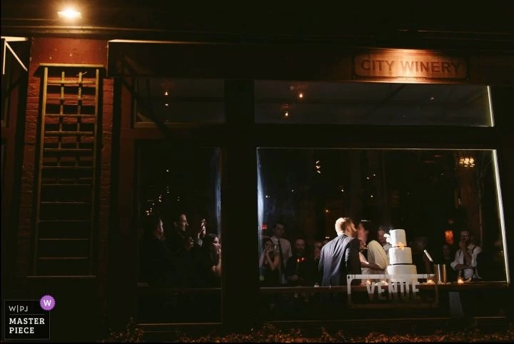 New York City Winery Awarded Wedding Portrait