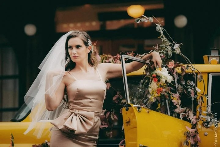 Bridal Editorial Wedding Session Brooklyn BOX HOUSE HOTEL