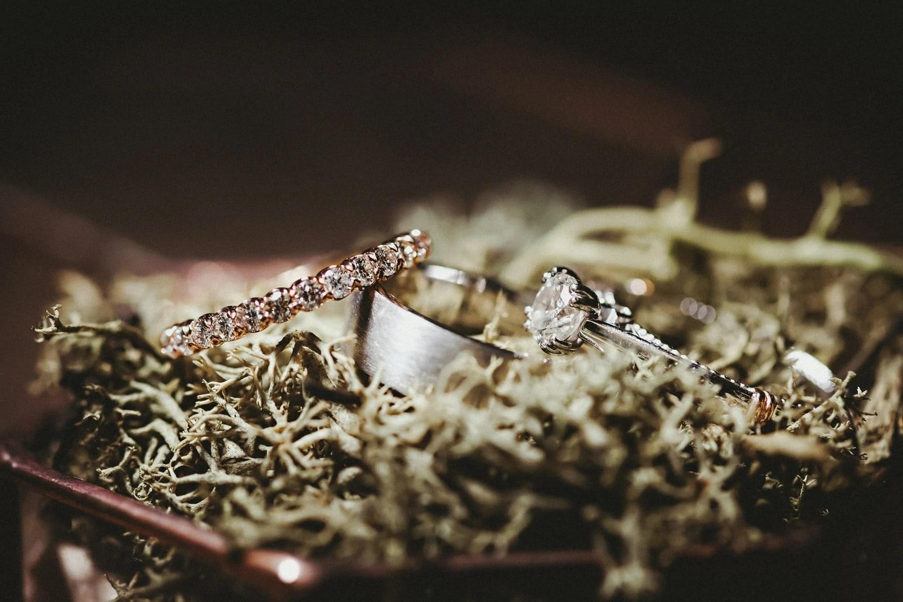 Rings - wedding details